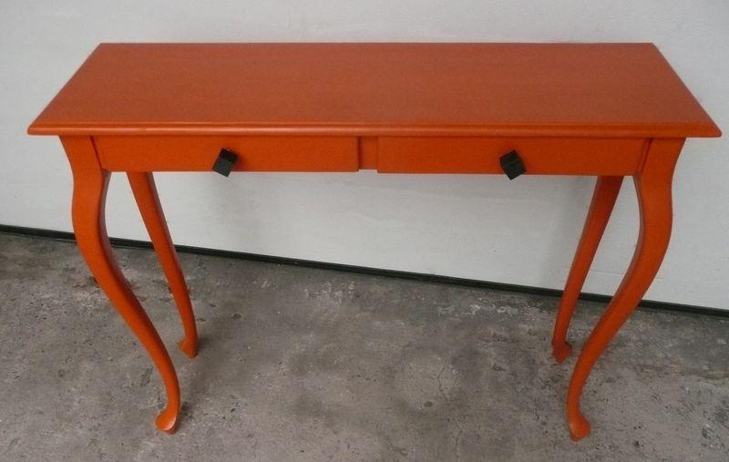 Console orange